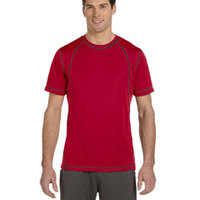 Men's Short-Sleeve Interlock Pieced T-Shirt