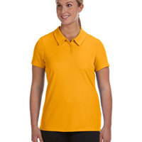 Ladies' Performance Three-Button Mesh Polo