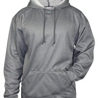 Pro Heather Performance Fleece Hooded Pullover