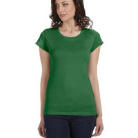 Ladies' Sheer Jersey Short-Sleeve T-Shirt