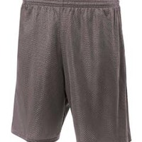 "Adult 7"" Inseam Lined Tricot Mesh Shorts"